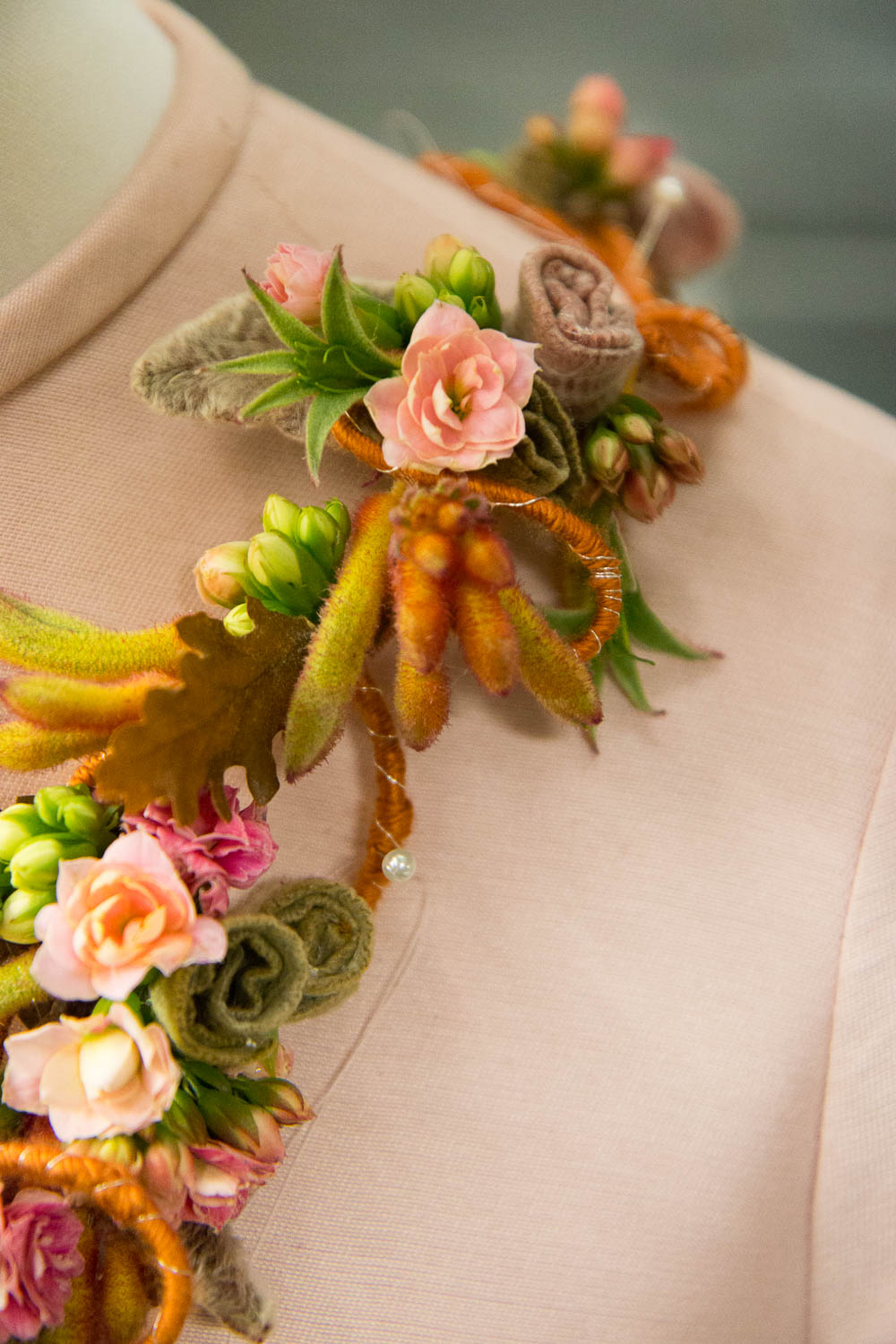 Alternative corsage